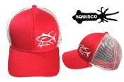 SQUIDCO RED TUNA HAT