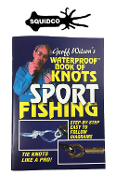 WATERPROOF BOOK OF KNOTS SPORT FISHING