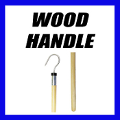 WOOD HANDLE GAFF