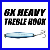 6X HEAVY - TREBLE HOOK