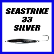 SEASTRIKE 33 LITE w/ J HOOK (ALL SILVER TOP)