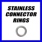 STAINLESS CONNECTOR RINGS