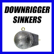 DOWNRIGGER SINKERS