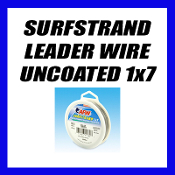 SURFSTRAND LEADER WIRE UNCOATED 1x7