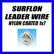 SURFLON LEADER WIRE NYLON COATED 1x7