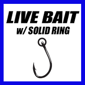 LIVE BAIT w/ SOLID RING