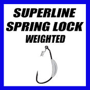 SUPERLINE SPRING LOCK - WEIGHTED